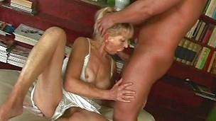 Blonde Blowjob