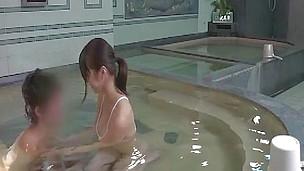 Bathing Big Tits